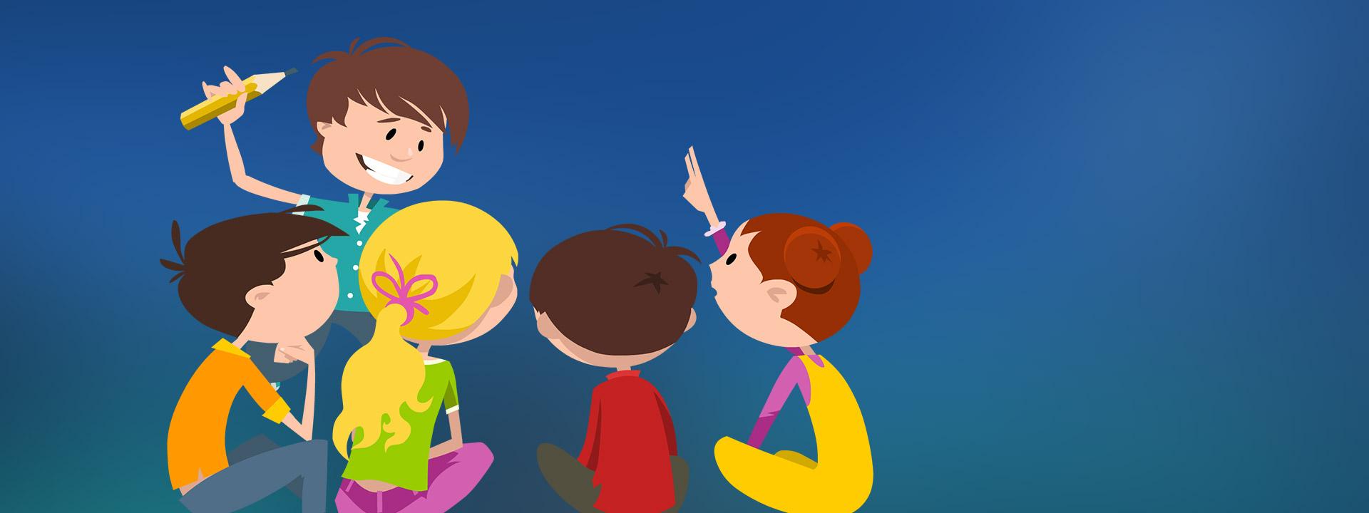 SJO Focus - banner z dziećmi